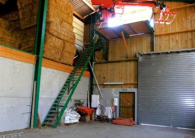 Aménagement de bâtiment agricole à Burdignin