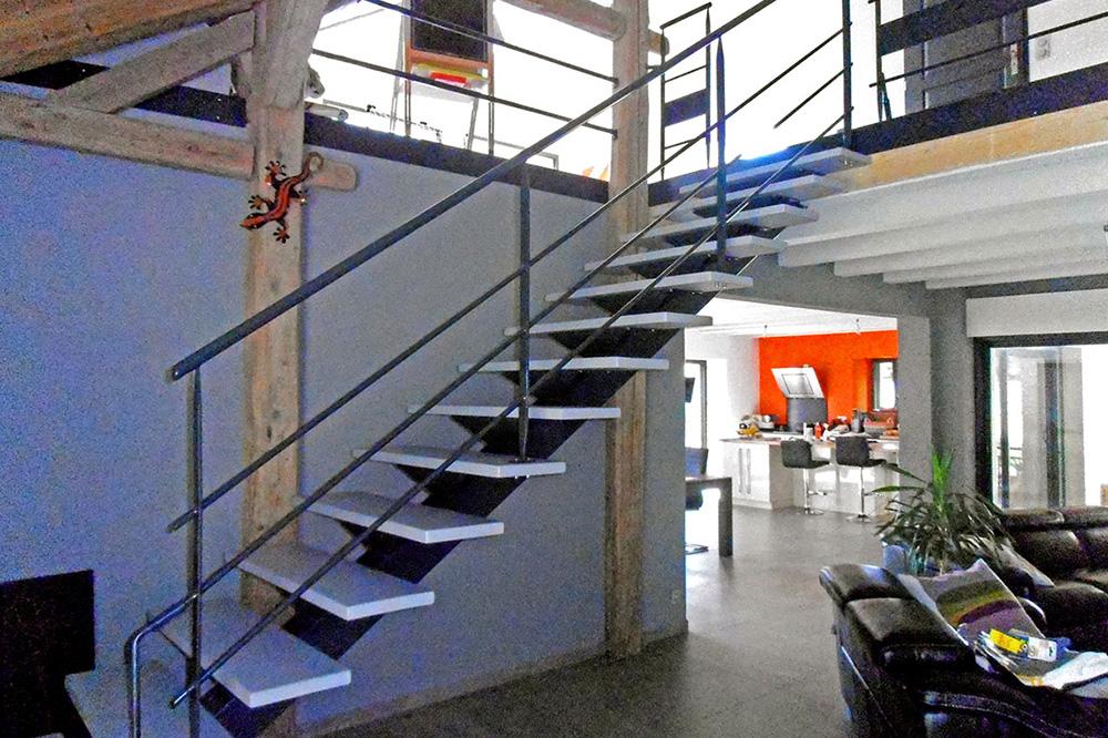 Escaliers Roch Fabien Travaux A Bogeve En Vallee Verte