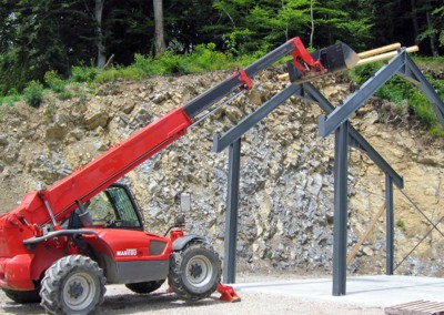 Construction métallique - atelier à Bogève