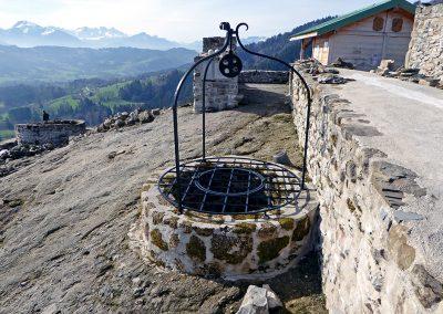 Fer forgé - Château de Rocafort à Boëge