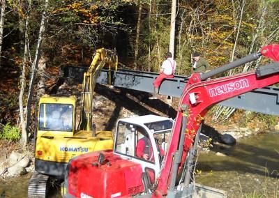 Construction métallique - Lac de la Crossetaz à Habère-Lullin