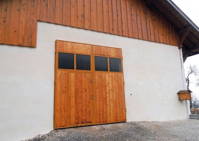 Porte de garage à Bogève