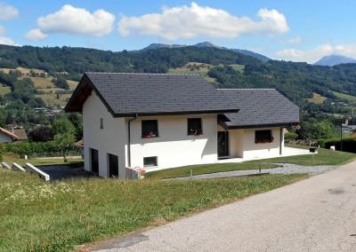 Terrassement de villa à Boëge